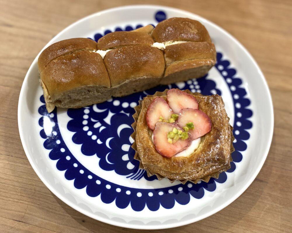やま市パン商店 練乳ちぎりパン