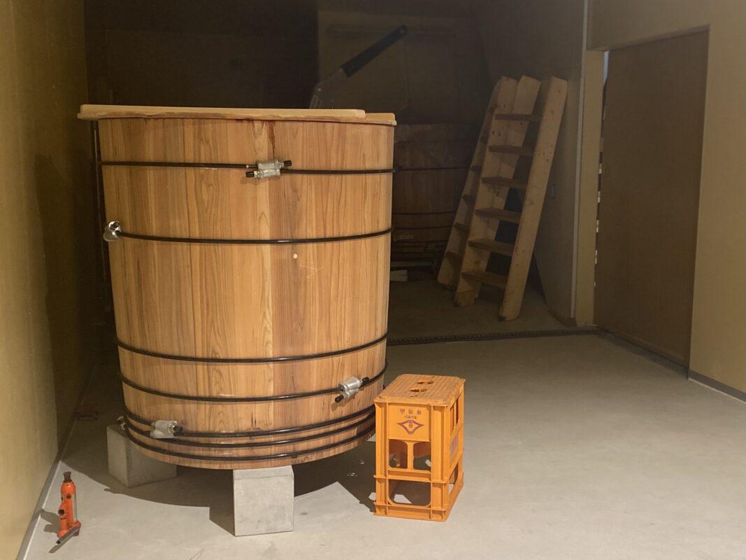 トリイソース 木桶