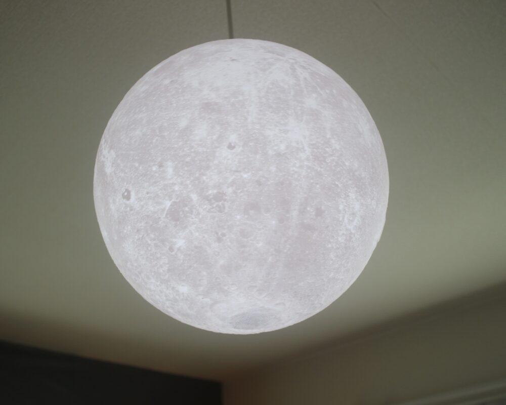 ことの間。 月のランプ