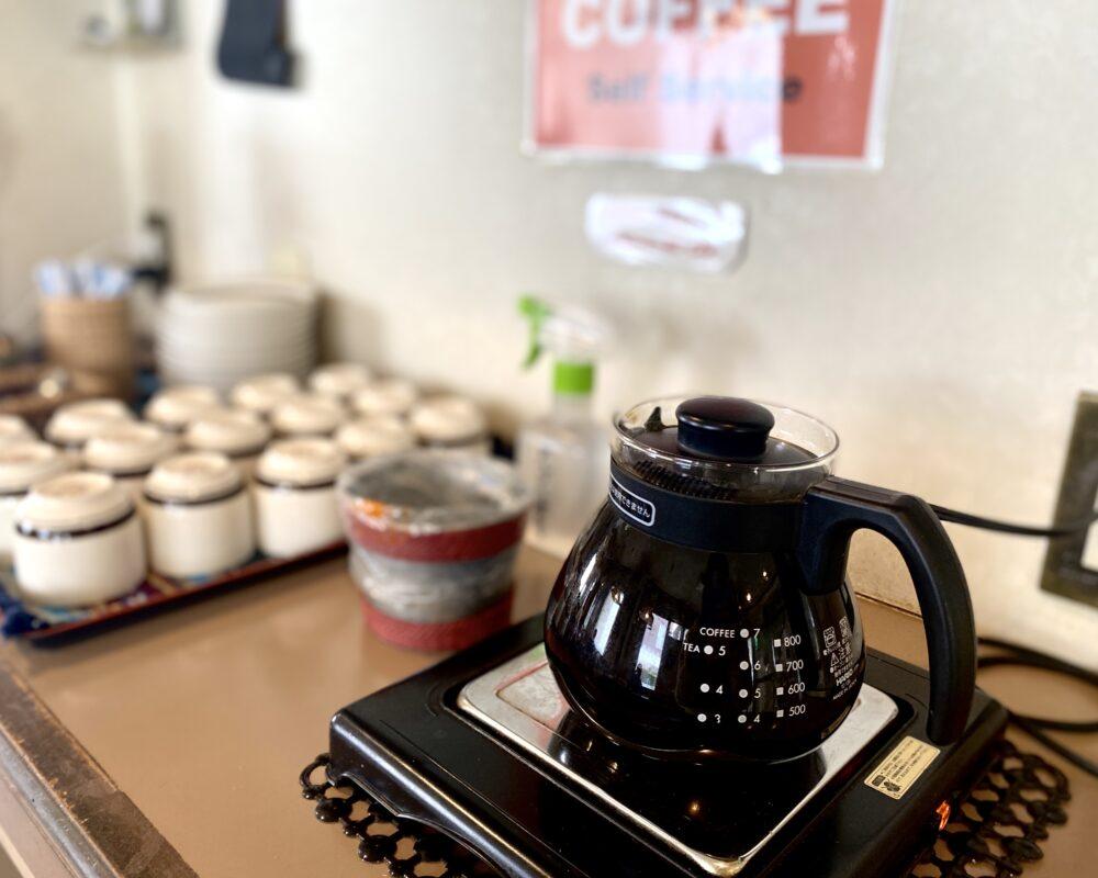 留園支店 コーヒー