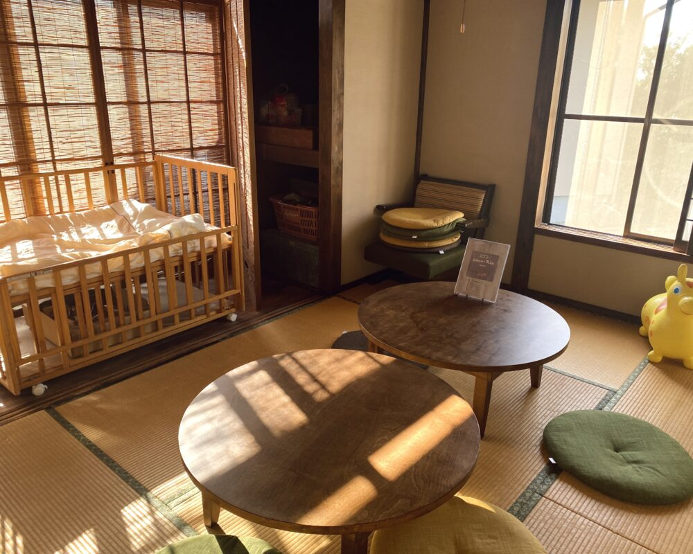 coco-Rin ベビーベッド付きの部屋
